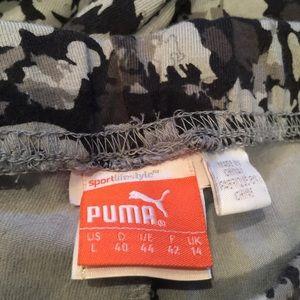 """Puma Pants - Puma leggings gray tones size """"L"""""""